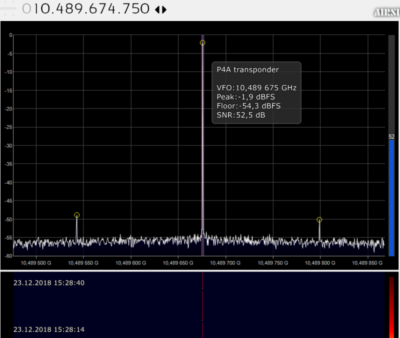 1st transponder test